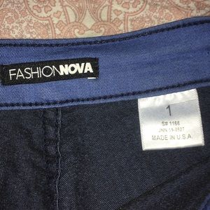 Fashion nova super high waisted jeans